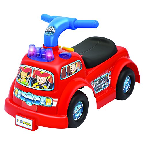 (Little People Lil' Fire Truck Ride-On)