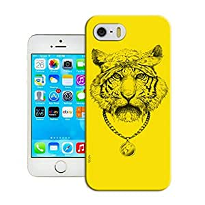 LarryToliver Customizable Hot Sale Cats and tigers Ultra Thin Snap-On Hard Case Fit For iphone 5/5s Cases