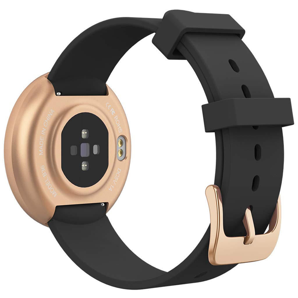 TADAMI Female Heart Rate Color Screen Physiological Period Reminds Fashion Smart Bracel (Black) by TADAMI Blouse (Image #3)