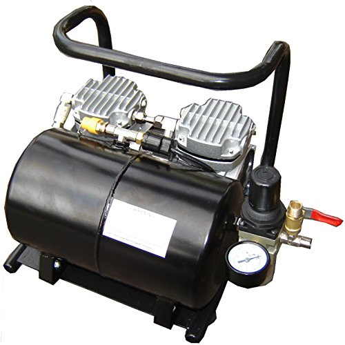 Silentaire Scorpion IIW-TT Ultra-Quiet Airbrush Compressor - Silentaire Airbrush Compressor