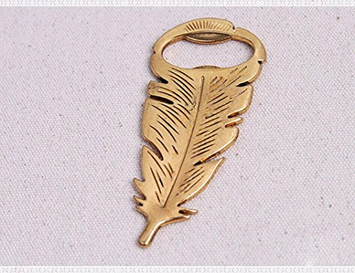 Bottle Opener, Kemilove Retro Vintage Feather Shape Alloy Tool Bar Party Gift by Kemilove (Image #6)