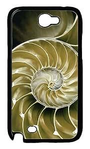 Rotating Art Custom Samsung Galaxy Note II N7100 Case Cover šC Polycarbonate šCBlack