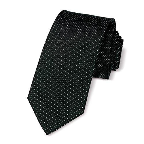Scuro 7 Artiginale 100 Cravatta cm italy Made 100 Classica Verde Seta In Hn5qY