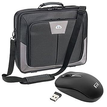 Pedea Premium Notebook - Maletín para ordenador portátil (Con ratón), negro: Amazon.es: Informática
