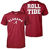 991b3c942 Elite Fan Shop Alabama Crimson Tide Roll Tide Tshirt - 2XL at Amazon.com