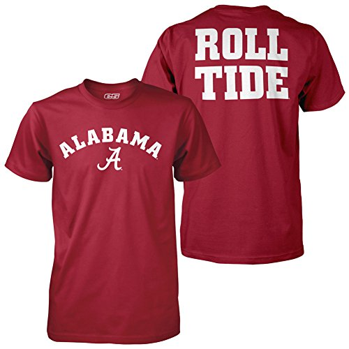 Elite Fan Shop Alabama Crimson Tide Roll Tide Tshirt - -