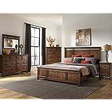 Genial Intercon Wolf Creek Solid Acacia Queen Bedroom Set