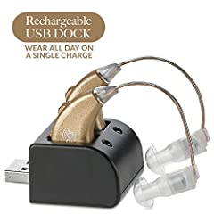 Have You Been Searching For A Rechargeable High Quality Behind The Ear Digital Personal Hearing Amplifier?   MEDca would like to share this amazing news with you. The MEDca  rechargeable hearing amplifier is the most popular behind the ear s...
