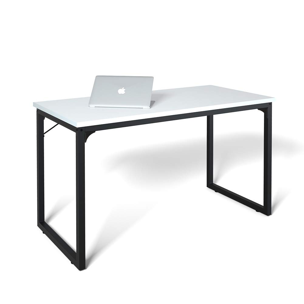 Computer Desk 39'', Modern Simple Style Desk for Home Office, Sturdy Writing Desk, Coleshome, White by Coleshome
