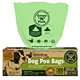 Green 'N' Pack Premium Pet Waste Bags (BPA Free), for Pantries and Outdoor Waste Stations, 300-Count