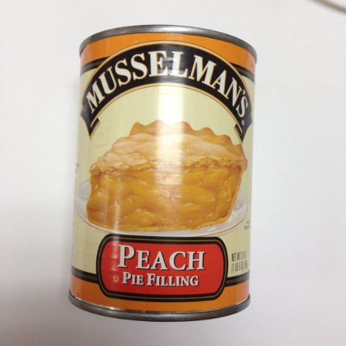 Musselman's Peach Pie Filling Pack of 2 Cans by Musselmans