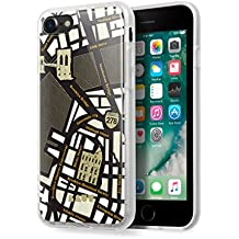 LAUT - NOMAD Case for iPhone 8 / iPhone 7 with Double Layer Protective Map Design - Brooklyn