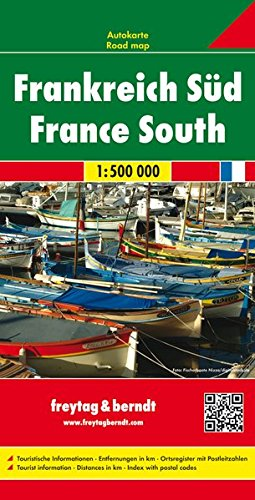 France South (Road Maps) (English, French and German Edition)