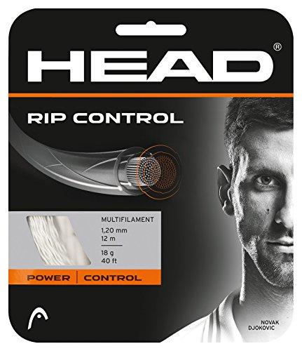HEAD RIP Control Tennis String Set, 18g, Natural
