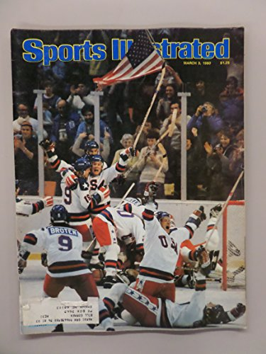 Sports Illustrated Magazine (U.S.A. Miracle Hockey, March 3 , 1980)
