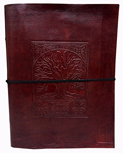 Handmadecraft Vintage Embossed Leather Notebook product image