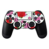 MightySkins Protective Vinyl Skin Decal Cover for Sony PlayStation DualShock 4 Controller wrap sticker skins Roses