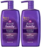 Aussie Aussomely Clean Shampoo - 29.2 oz - 2 pk