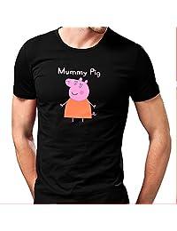 Mummy Pig for men T shirt