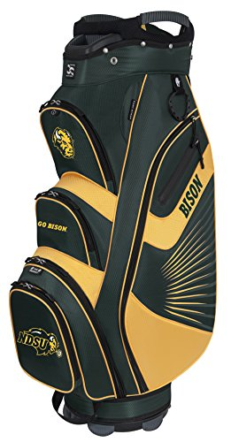 North Dakota State Bison The Bucket II Cooler Cart Bag (Bison Two Golf Balls)