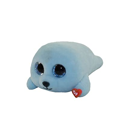 1021995a0ce Amazon.com  TY Beanie Boos - Mini Boo Figures Series 2 - SQUIRT the Blue  Seal (2 inch)  Toys   Games