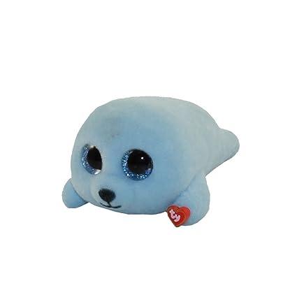 Amazon.com  TY Beanie Boos - Mini Boo Figures Series 2 - SQUIRT the Blue  Seal (2 inch)  Toys   Games 80a3aa432e5