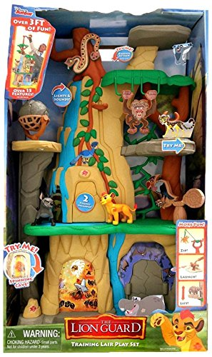 fd5bb718 Just Play Lion Guard Training Lair Playset