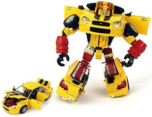 Renda Transforming Deluxe Class Robot Figure (Yellow)