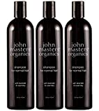 John Masters Organics Shampoo for Normal Hair with Lavender & Rosemary, 16 oz (Pack Of 3)