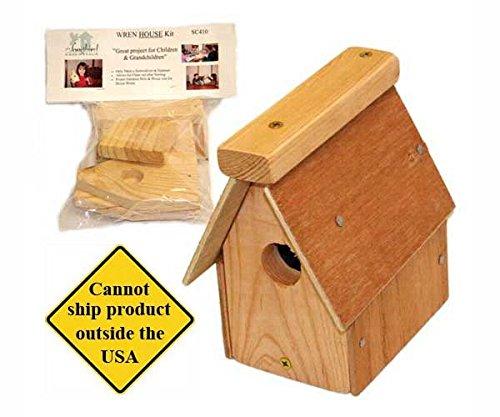 Wren Essentials Songbird House - Songbird Essentials Wren House Kit