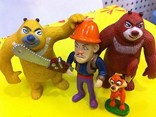 Teddy bear cartoon hand to do a full- infested