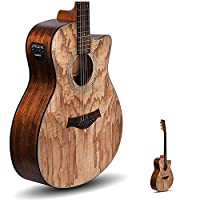 Kadence Acoustica Series Semi Acoustic Guitar with Equlizer A-06-EQ 5