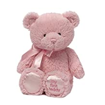 Gund Baby My 1st Teddy Plush Toy, Pink, 24-Inch