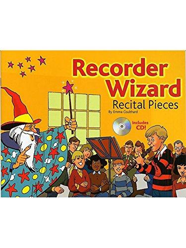 Recorder Wizard Recital Pieces: Pupil's Book. Partitions, CD pour Flûte à ()