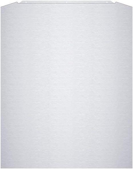 CIARRA Splashback de Acero Inoxidable Curvado 60cm x 75cm Ajuste Para Campana Curva 600mm: Amazon.es: Grandes electrodomésticos