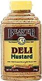 Beaver Deli Mustard, 12.5 oz