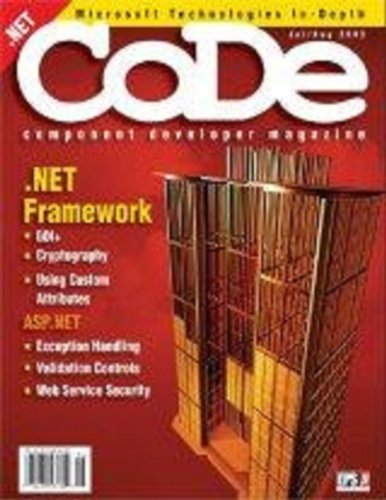 CODE Magazine - 2003 - July/August (Ad-Free!)