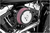 Arlen Ness 50-514 Chrome Big Sucker Performance Air Filter Kit
