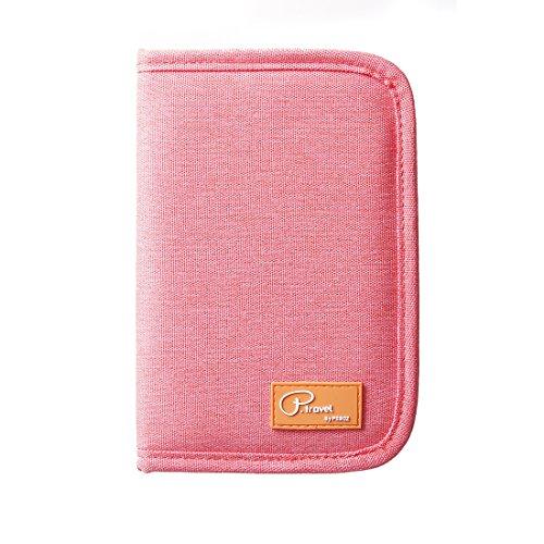 SUSU Travel Passport Wallet Case Family Passport Holder Organizer 4 Passport Cover for Women, Mom, Girls by SUSU (Image #9)