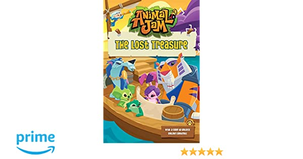 The Lost Treasure 4 Animal Jam Ellis Byrd 9780451534507 Amazon Books