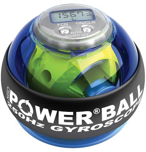 Exercice: Powerball 250 Hz Bleu Pro - Bleu Exerciseur main Exercise Ball