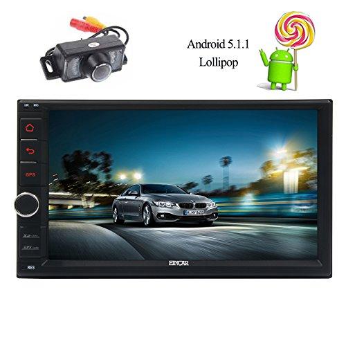 Double Din EinCar Car Stereo 16GB ROM Android 5.1.1 Lollipop