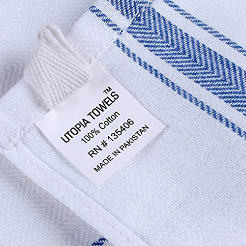 Utopia Towels 12 Pack Dish Towels 15 x 25 inches White Kitchen Towels, bar Towels and Tea Towels by Utopia Towels (Image #3)