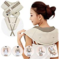 Gadgetronics body massager for pain relief with vibration for women and men(Cervical Massage Shawl)