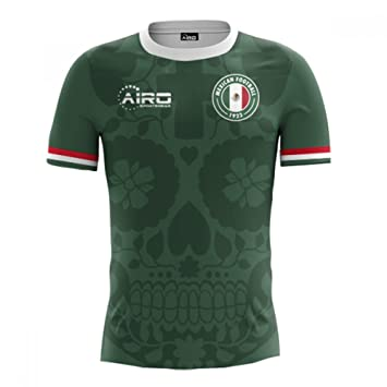 Airo Sportswear 2018-2019 Mexico Home Concept Football Soccer T-Shirt (Kids) c1c6c9051