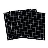 Wisamic 3 Pack 220mmx220mm 3D Printing Build Surface Heat Bed with 3M Adhesive, 10mm Grid, for 3D Printers MK2/MK2A, Reprap, Mendel