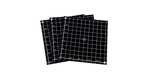 Amazon.com: wisamic superficie para impresión en 3d cama de ...