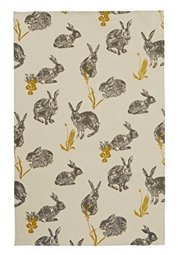 Rabbit Tea (Ulster Weavers Block Print Rabbits Cotton Tea)