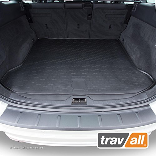 - Travall Liner Compatible with Volvo XC60 (2008-2017) TBM1027 - All-Weather Black Rubber Trunk Mat Liner
