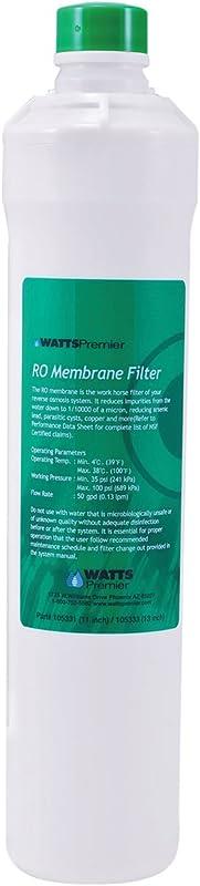 Watts Premier 105331-G RO Membrane Reviews